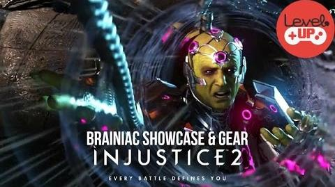 Injustice 2 Brainiac Showcase and Gear Preview