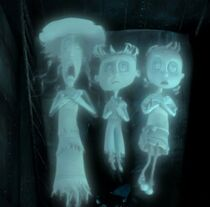 The three ghosts