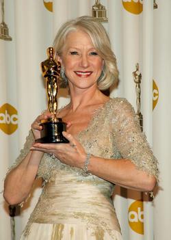 Helen Mirren winning her Oscar while Inkheart was still filming