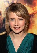 Eliza Bennett Inkheart New York Premiere close-up