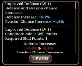 Improved Defense