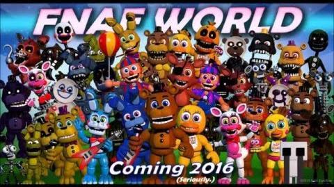 FNaF World soundtrack- Title Screen