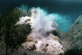 Rock avalanche
