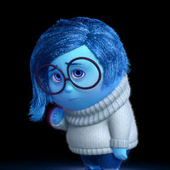 Sadness as seen at the end of the Inside Out Teaser Trailer