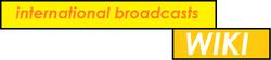 International Broadcasts Wiki logo