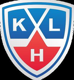 KHL logo shield