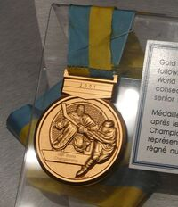 IIHF World Championship Gold Medal
