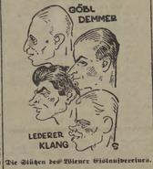 31 Wiener EV Caricatures