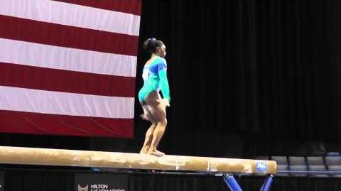 Simone Biles - Balance Beam - 2013 P&G Championships - Sr