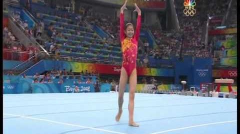 Jiang Yuyuan Olympics EF 2008 Beijing FX NBC coverage