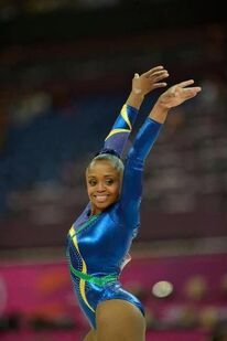 Daiane dos Santos 2012 Olympics