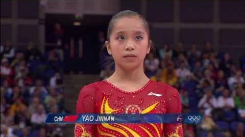 2012 Olympics - Yao Jinnan UB Qual HD