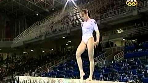 Alexandra Eremia (ROU) BB TF Olympic Games Athens 2004