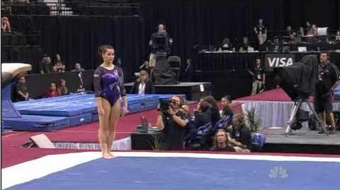 Alicia Sacramone - 2011 Visa Championships - Day 2 - Floor Exercise