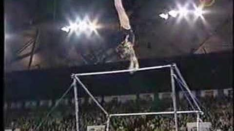 Sabina Cojocar - 2001 Goodwill Games AA - Uneven Bars