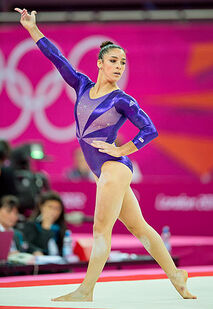 Raisman2012olympicsqf