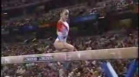 Oana Ban - 2003 Worlds Team Finals - Balance Beam