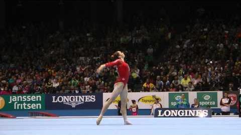 McKayla Maroney - Floor - 2013 World Championships - Qualification