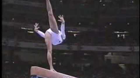 Shannon Miller '96 Olympics Compulsory Beam