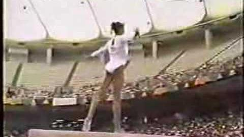 Betty Okino - 1991 Worlds EF - Balance Beam