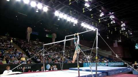 Dasha Joura - Uneven Bars - 2008 Pacific Rim Championships