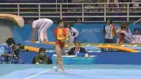 Zhang Nan 2004 Olympics AA Floor