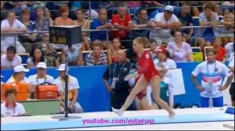 Ksenia Afanasyeva Vault Final - Universiade Kazan 2013