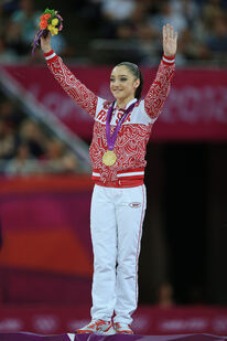 Aliya Mustafina Olympics Day 10 Gymnastics QDtqA rlYI9l