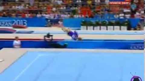 Ksenia Afanasyeva - Floor - 2013 World University Games - AA - 15