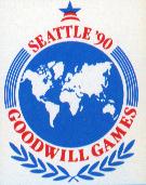 Goodwill Games Seattle 1990 logo