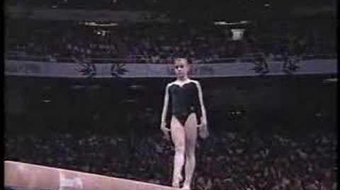 Lilia Podkopayeva - 1996 Olympics EF - Balance Beam