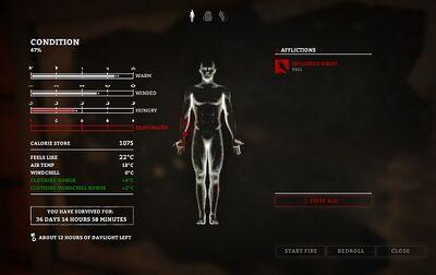Survival page