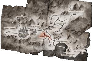 Locator map Ravine