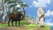 Totosai talks to Sesshomaru