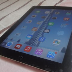 iPad 2 running iOS 7