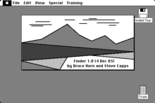 About the Original Macintosh Finder