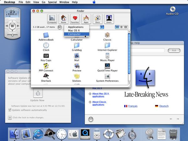 Mac OS X public beta2