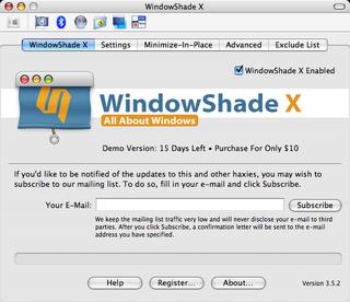 WindowShadeX