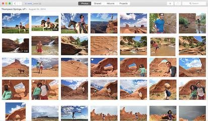 Apple Photos screenshot Mac