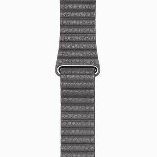 Smr Gray Leather Loop Band
