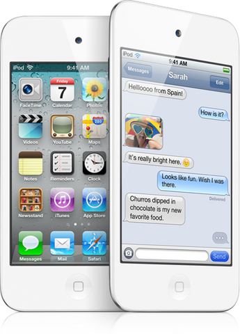 File:IPod Touch 4 White.png