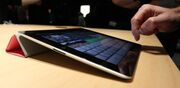 IPad 2 Smart Cover at unveiling crop