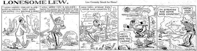 File:Joe Doyle Lonesome Lew Jersey Journal 1915 03 31.png