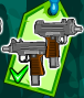 Weapon double smgs