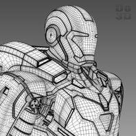 Iron man 3 suit - mark 39 gemini armor 3d model 3ds fbx obj max 65f18886-ab29-4ff5-b8db-2c7f8ba3b1a6