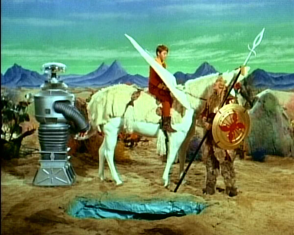 File:Will on slythia with robot and brynhilda.jpg