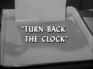Turnbacktheclock