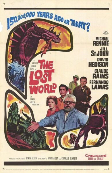390px-TheLostWorld1960Poster