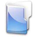 Datei:Crystal Clear filesystem folder blue.png