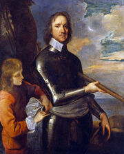 Oliver Cromwell by Robert Walker